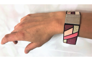 "Armband ""Mondrian"" in Variante Drei"